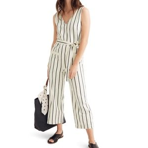 Madewell Striped Pull-On Jumpsuit, Marta Stripe, L